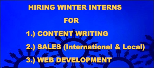 Hiring Winter Interns for Content Writing, Sales and Web Development Profile - ICO WebTech Pvt. Ltd.
