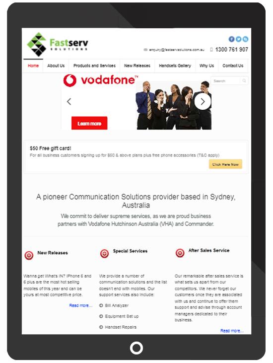 Website Design Example | ICO WebTech Pvt. Ltd.
