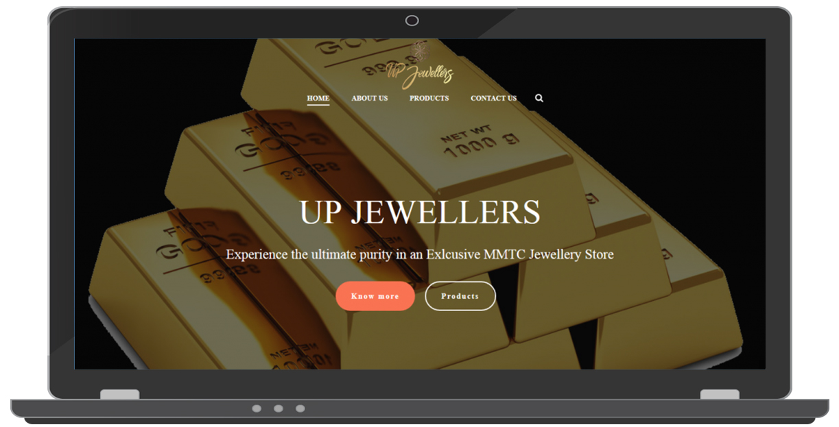Jewellery Website Design | ICO WebTech Pvt. Ltd.