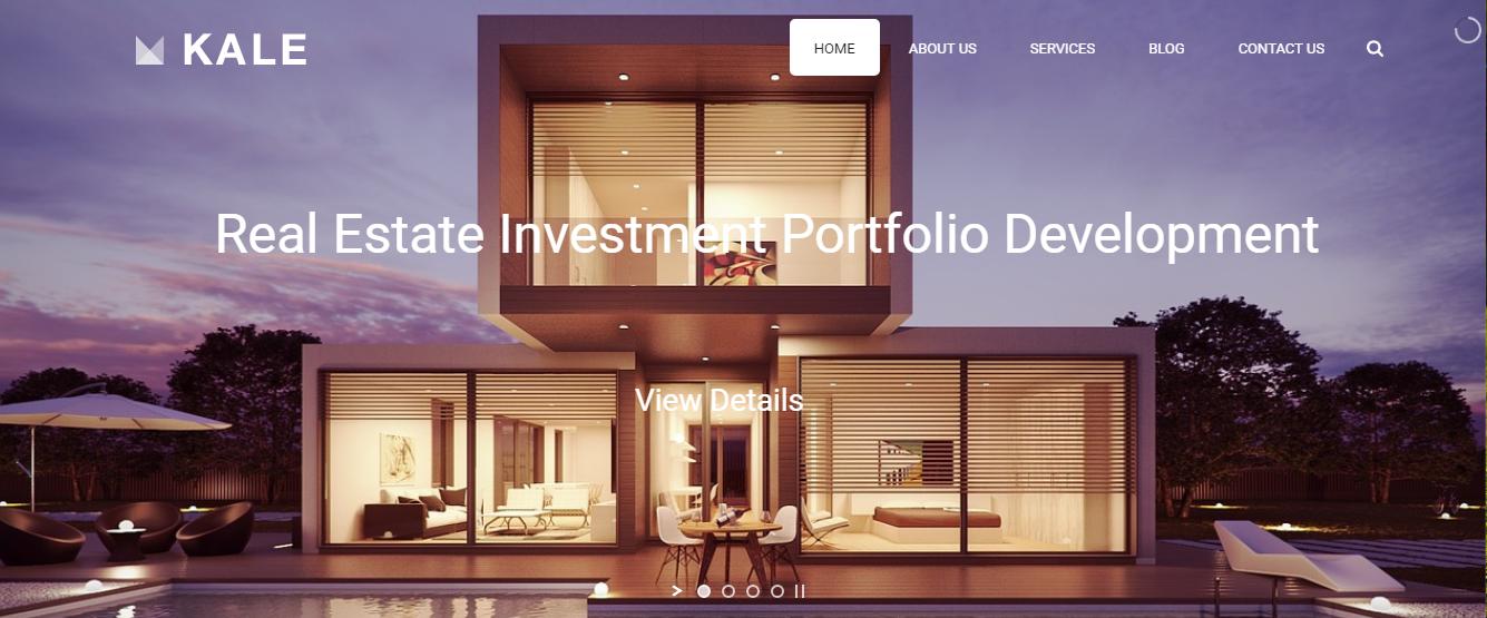 real estate web design company in South Delhi - ICO WebTech Pvt. Ltd.
