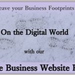 Leave your business's footprint all over the Digital World with our Free Business Website package!
