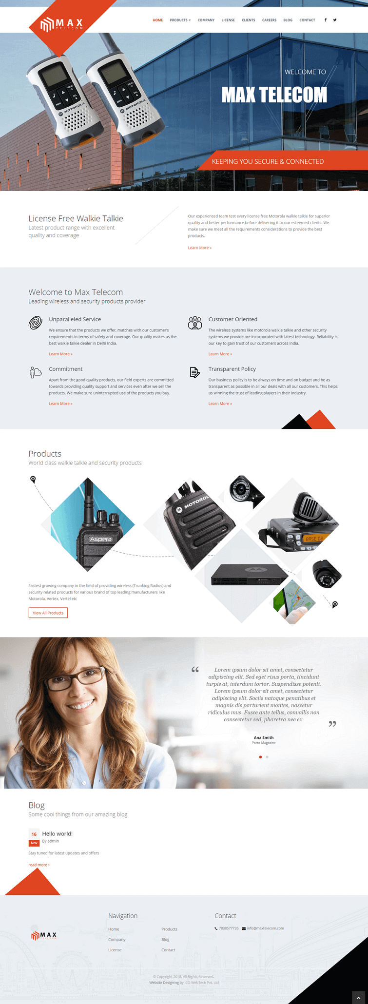 After website redesign | ICO WebTech Pvt. Ltd.